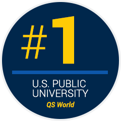 #1 U.S. Public University QS World
