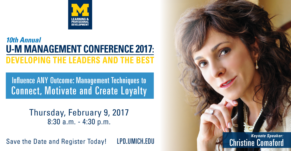 U-M Management Conference 2017