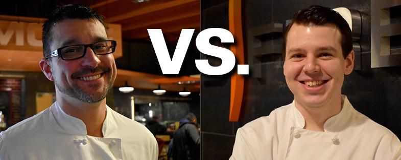 Chefs Tony Picinotti and Nicolaus Machcinski