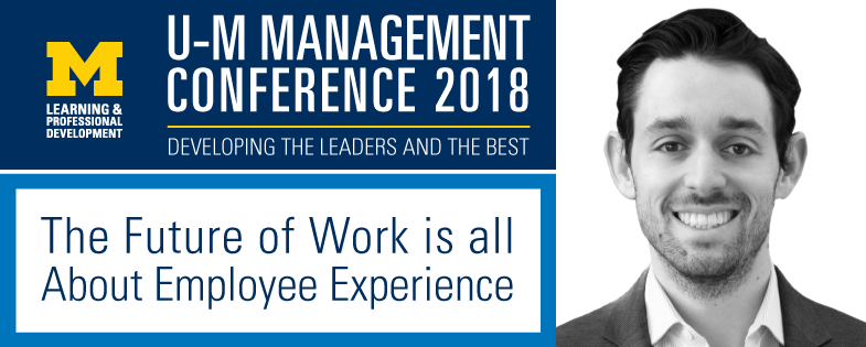 U-M Management Conference 2018 with Keynote Speaker Jacob Morgan