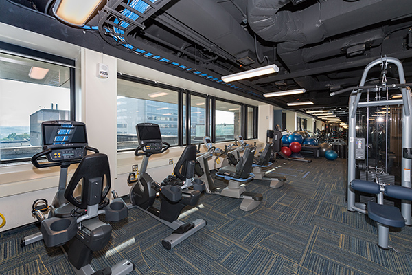 treadmills at UH-South Wellness Center