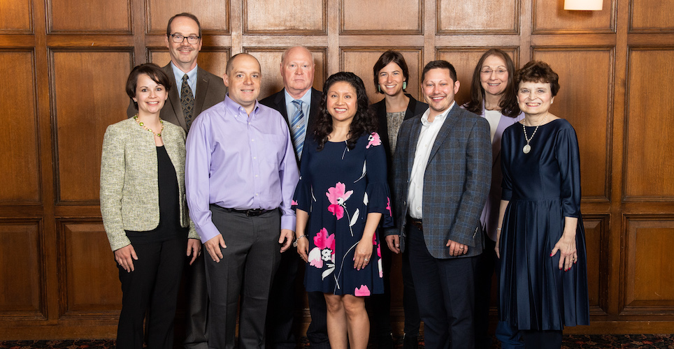 eleven individuals recipients of the 2019 Staff Impact Awards