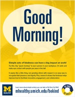 Be Kind - Good Morning flyer thumbnail
