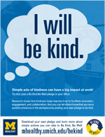 Be Kind - I will be kind flyer thumbnail