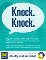 Be Kind - Knock Knock flyer thumbnail