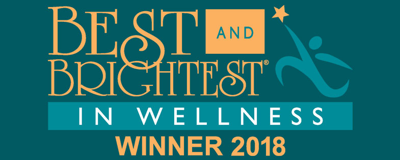 Best and Brightest in Wellness Winner 2018