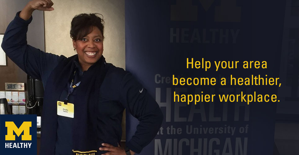 Help your area become a healthier, happier workplace!