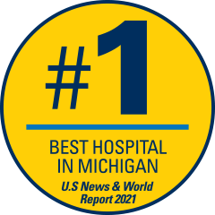 Number 1 Best Hospital in Michigan - U.S. News & World Report 2021