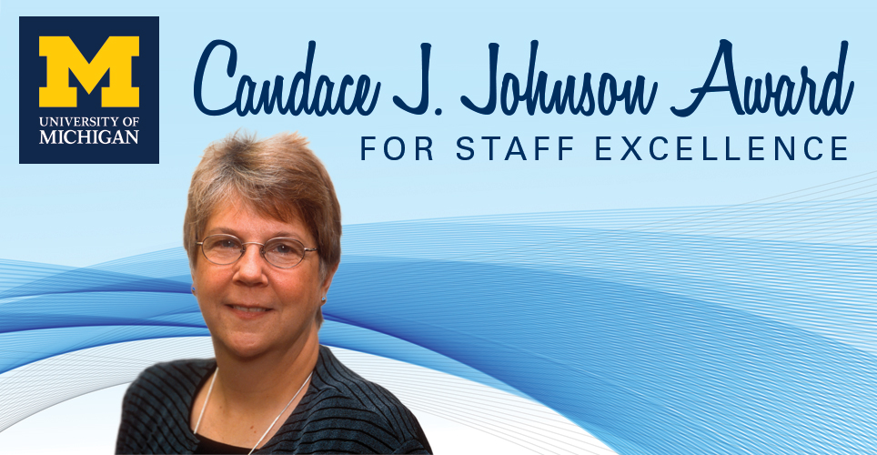 Candace J. Johnson Award for Staff Excellence