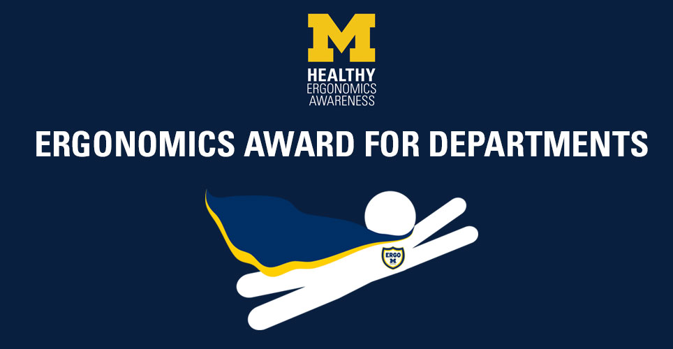 Ergonomics Award for Departments