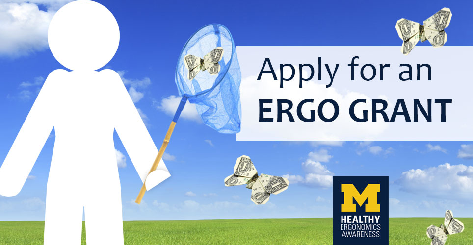 Apply for an Ergo Grant