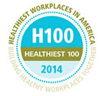 Healthiest 100 Workplaces Logo