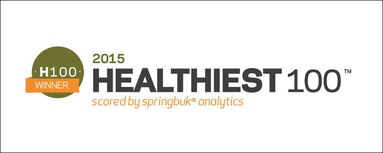 healthiest 100 logo