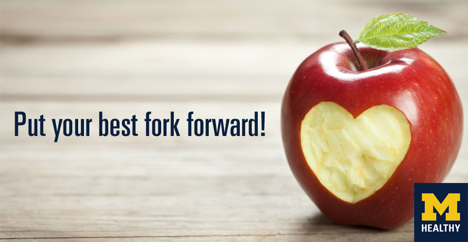 Put your best fork forward.