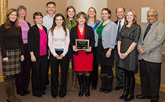PHS Team with UMHHC Award