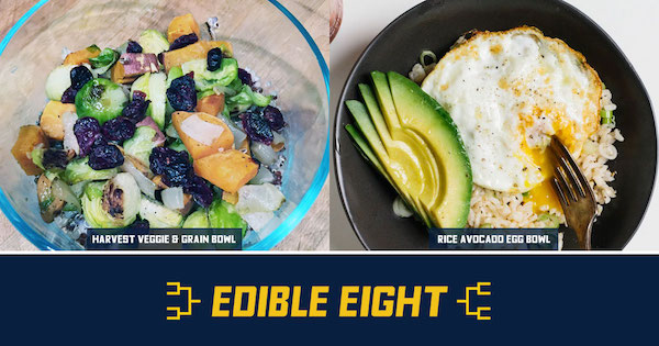 Harvest Veggie Bowl Vs. Avocado Egg Bowl