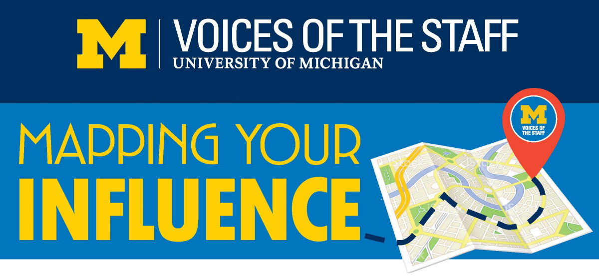 Voices of the Staff Annual Meeting Theme, Mapping Your Influence.